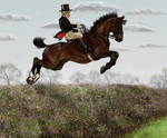 St George's Day Hunt - Amyas and Horatio by oingy-boingy