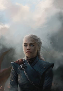 Daenerys - Queen of the ashes