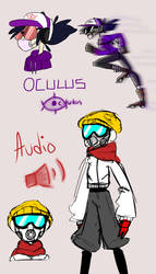 oculus and audio by Commander-Katelyn