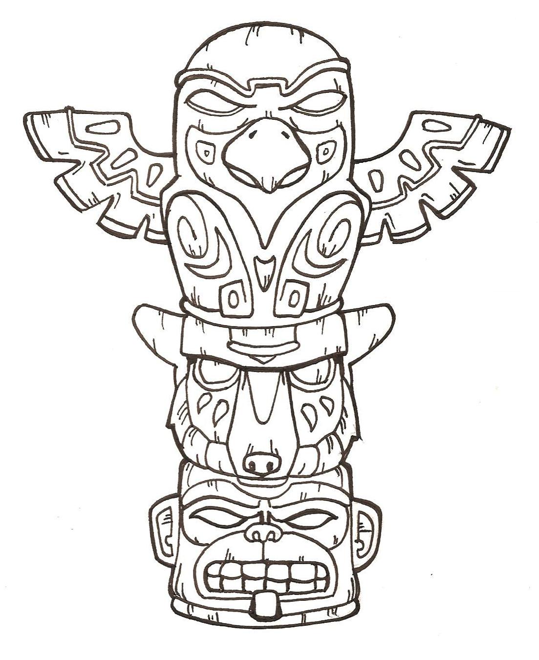 Totem Pole 2 By Flashfek4 On Deviantart