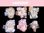 [OTA CLOSED] Magical Girls Gaia Adoptables [15] by comfyfluff
