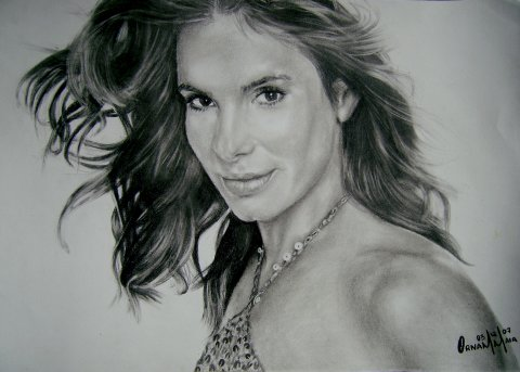 Sandra Bullock by dessiner1