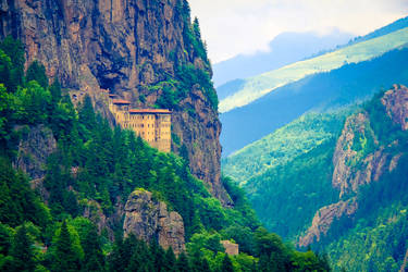 Sumela Monastery by the-universal-mind