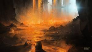 Lava Landscape by KursidKD