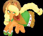 Applejack - Grand Galloping Gala by grandifloru