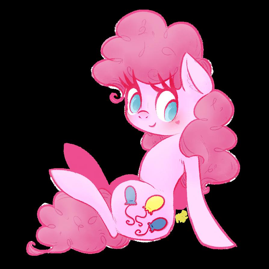 Pinkest Party Pony by grandifloru