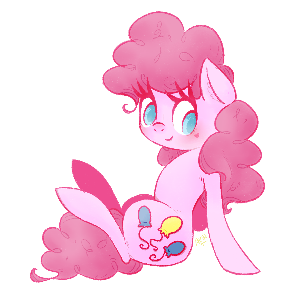 Pinkest Party Pony by grandifloru