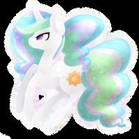 Princess Celestia by grandifloru