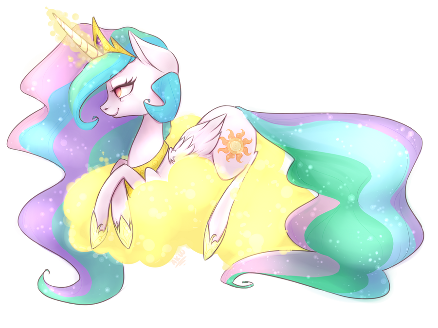 Commission - Celestia by grandifloru