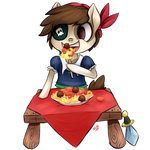 Commission - Pipsqueak the Pirate
