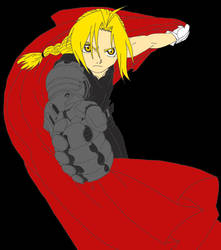 Edward Elric Line Art By Catdemonlunaria91-d2ycaeu by lyrics494