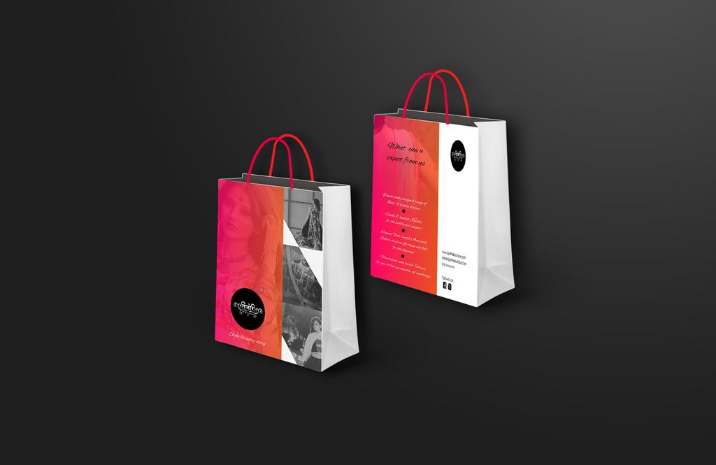 Shopping Bag design 4 Tijori the boutique by Varun-Chauhan