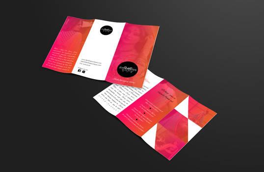 Trifold Brochure Design 4 Tijori the boutique