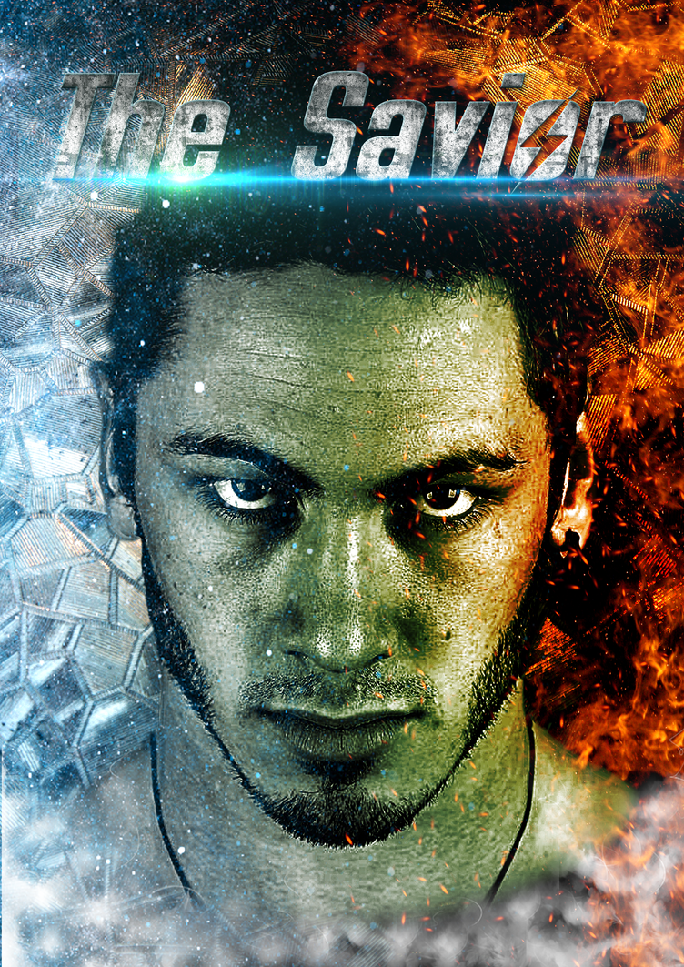 The Savior_ Poster Concept by Varun-Chauhan