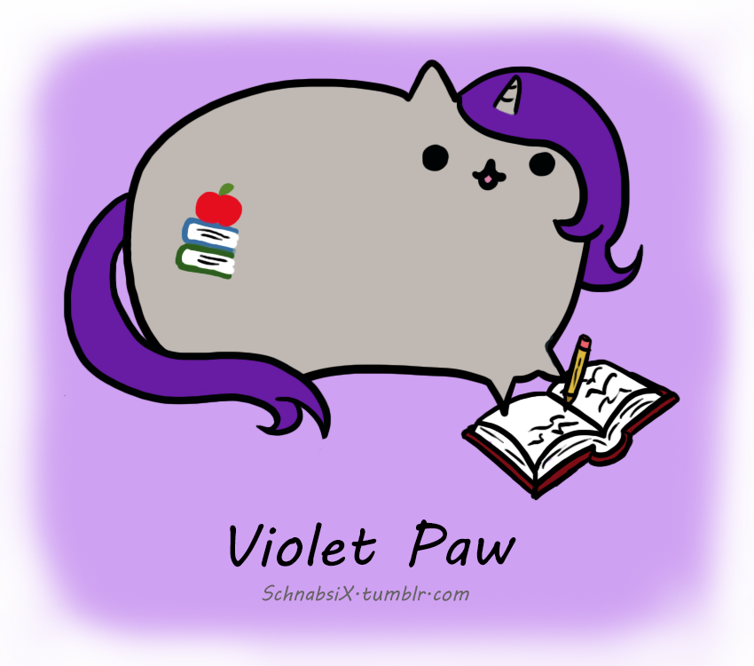 Violet Paw by SchnabsiX