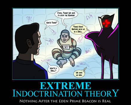 Mass Effect: Extreme Indoctrination Theory