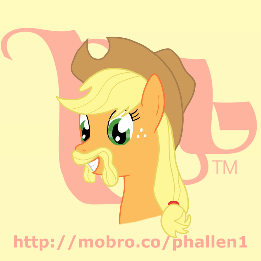 MoBrony project: Applejack by phallen1