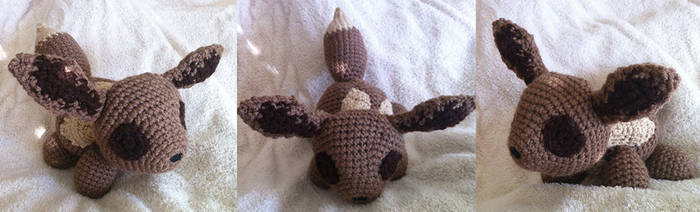 Eevee - Amigurumi by theunknownsoul