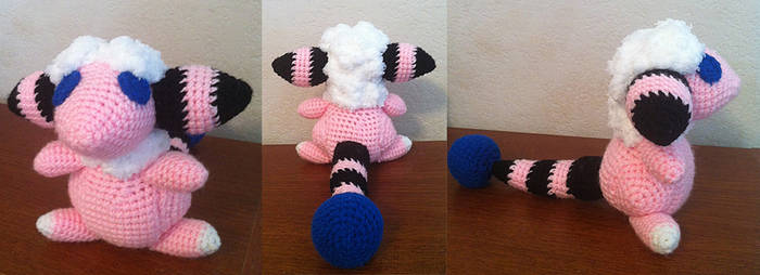 Flaaffy - Amigurumi by theunknownsoul