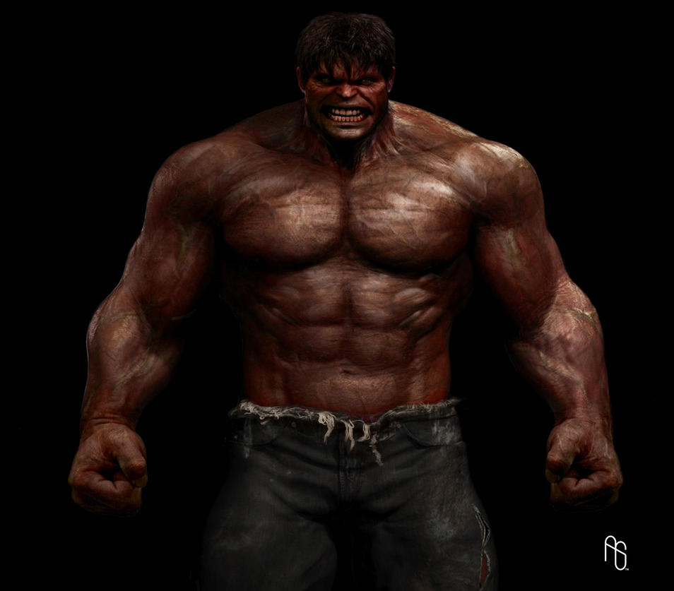 RED HULK by DeviantMAN523 on DeviantArt