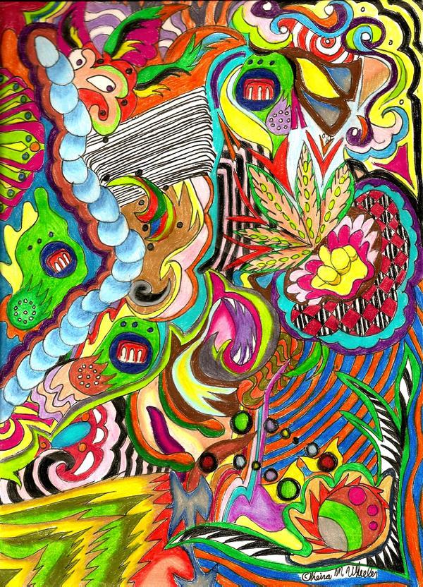 Diarrhea of the mind by LightningSilver-Mana