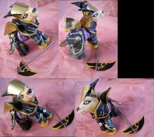 Chrono Cross Lynx commission by LightningMana-Crafts