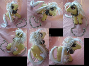 Pluto the Demon Hound from Black Butler by LightningMana-Crafts