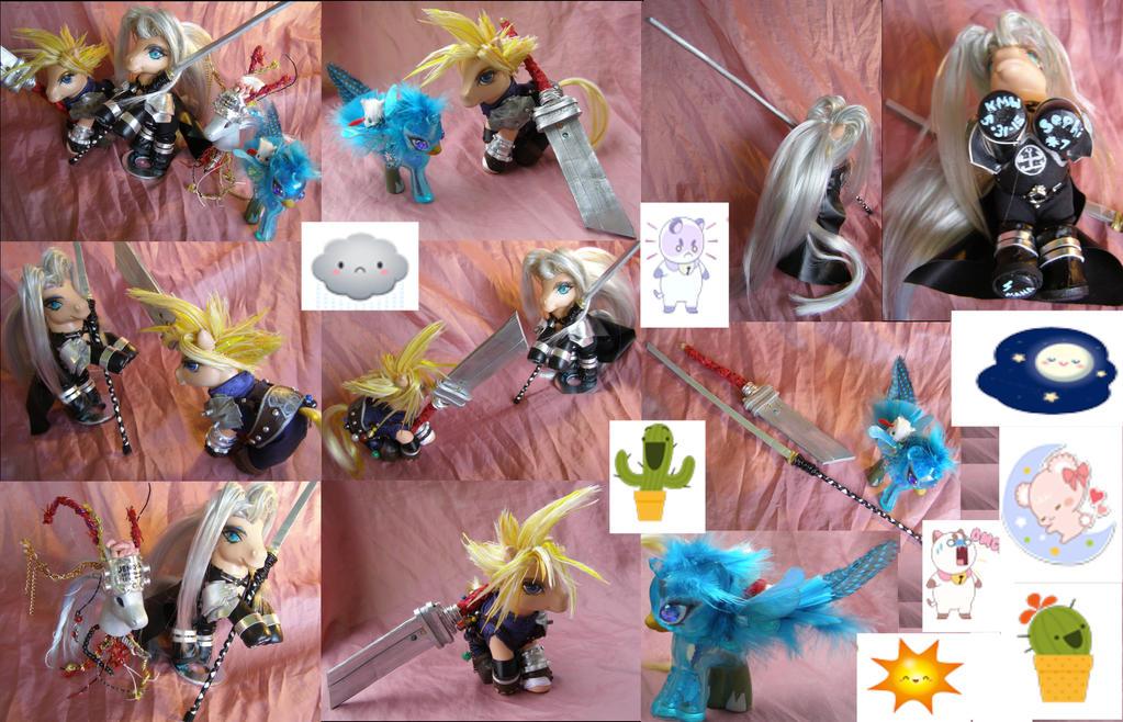Mog Station Login >> Final Fantasy VII Cloud and Sephiroth Commission by LightningSilver-Mana on DeviantArt