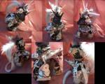 Demon Unicorn in Silver Armor