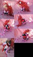 Black Butler OVA Cheshire Grell by LightningSilver-Mana