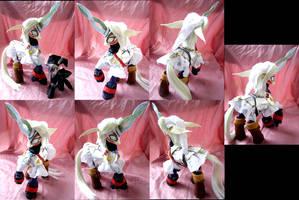 Fierce Deity Link Custom Pony by LightningSilver-Mana
