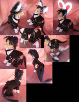 Black Butler Sebastian v2.0 by LightningSilver-Mana