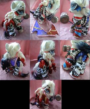 Zilla sized Harley Quinn by LightningMana-Crafts