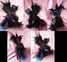Raven Howl version 3 by LightningSilver-Mana
