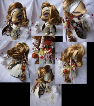 Zilla sized General Beatrix pony FFix by LightningMana-Crafts