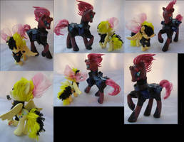 Songbird Serenade and Tempest Shadow by LightningSilver-Mana
