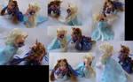 Anna and Elsa Frozen gift set