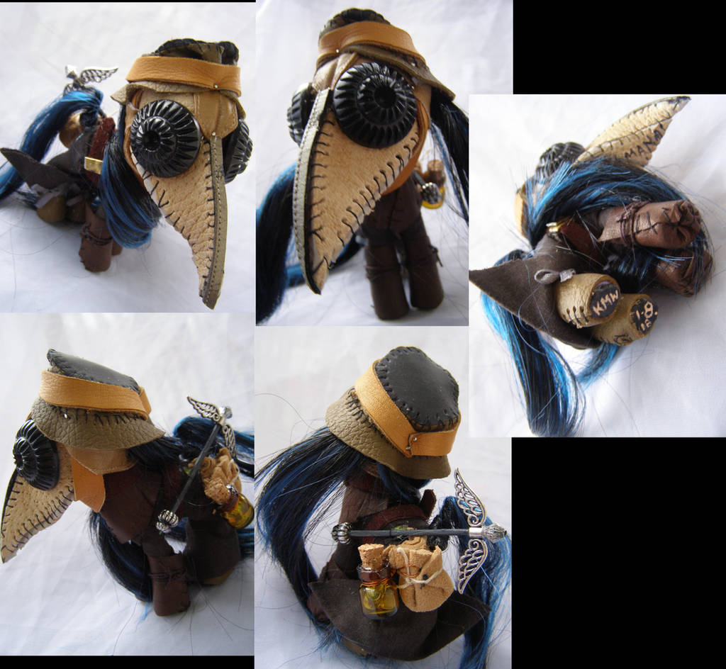 Plague Doctor commission by LightningSilver-Mana
