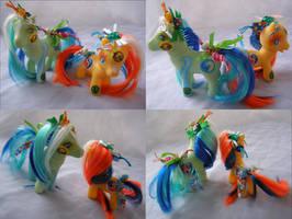 Tide Pod custom ponies for face palming by LightningSilver-Mana