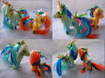 Tide Pod custom ponies for face palming by LightningMana-Crafts