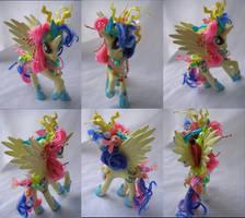 Princess Bon Bon commission by LightningSilver-Mana