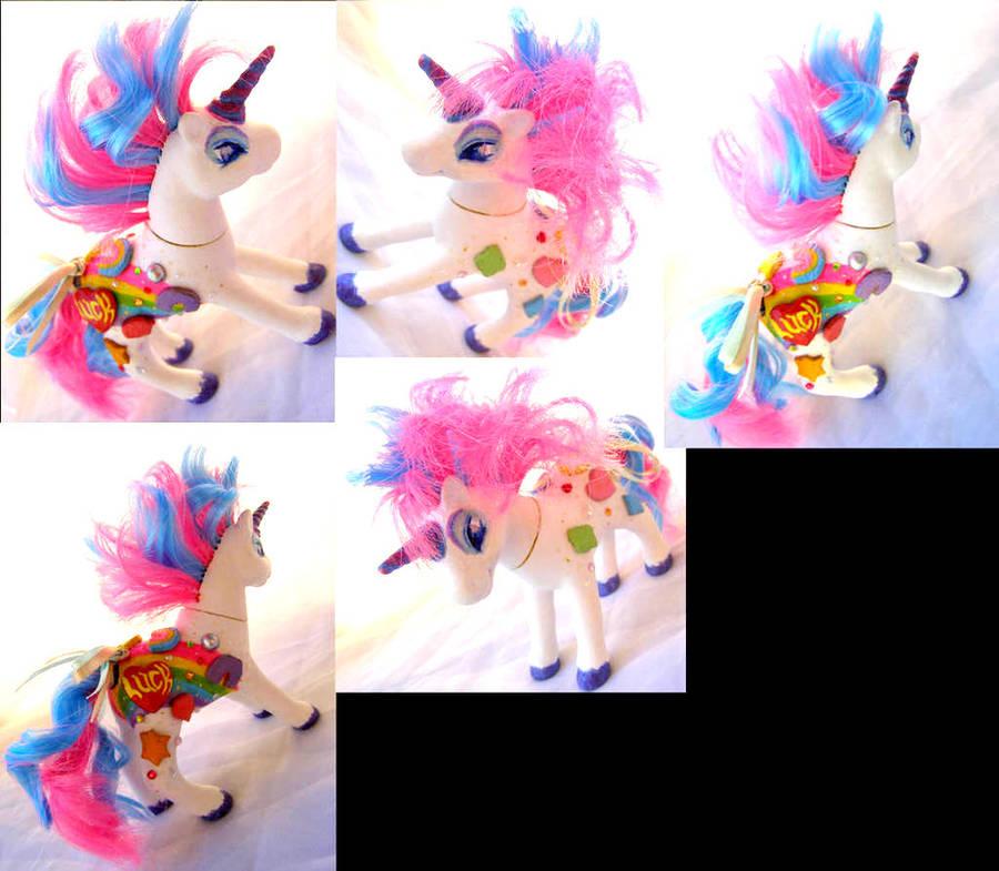 Lucky Charms unicorn by LightningSilver-Mana