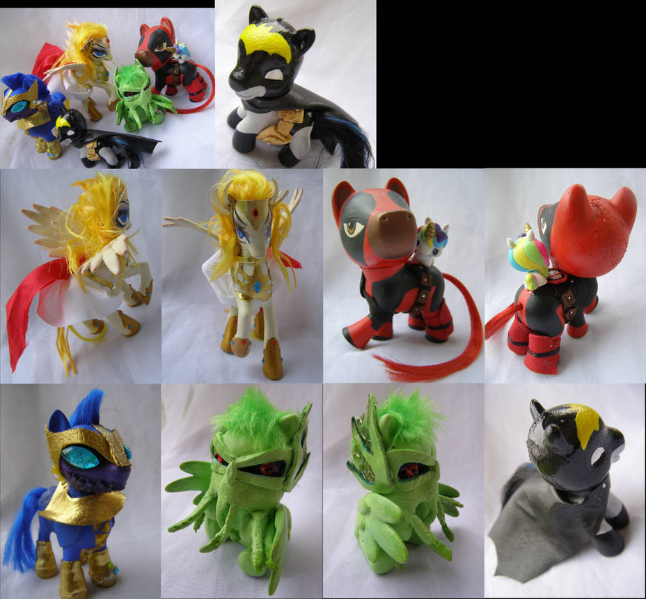 Comic themed customs for Comic Book Zen by LightningSilver-Mana