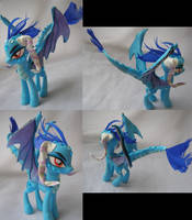 Princess Ember the Dragon by LightningSilver-Mana
