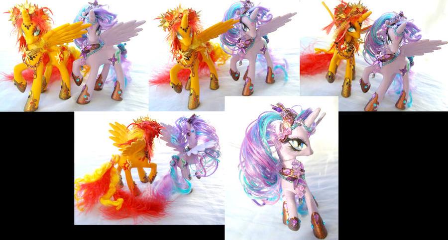 Shimmer Glimmer Princesses by LightningMana-Crafts