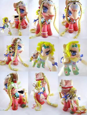 Matryoshka nesting pony dolls by LightningMana-Crafts