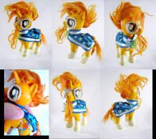 Sunburst custom pony by LightningSilver-Mana