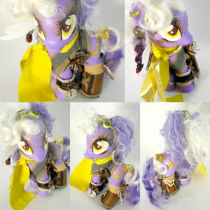 Traveling Pony Museum mascot Aethernaut gift by LightningMana-Crafts