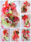 Strawberry harajuku unicorn commission by LightningMana-Crafts