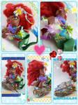 Halle Bailey inspired Mermaid pony